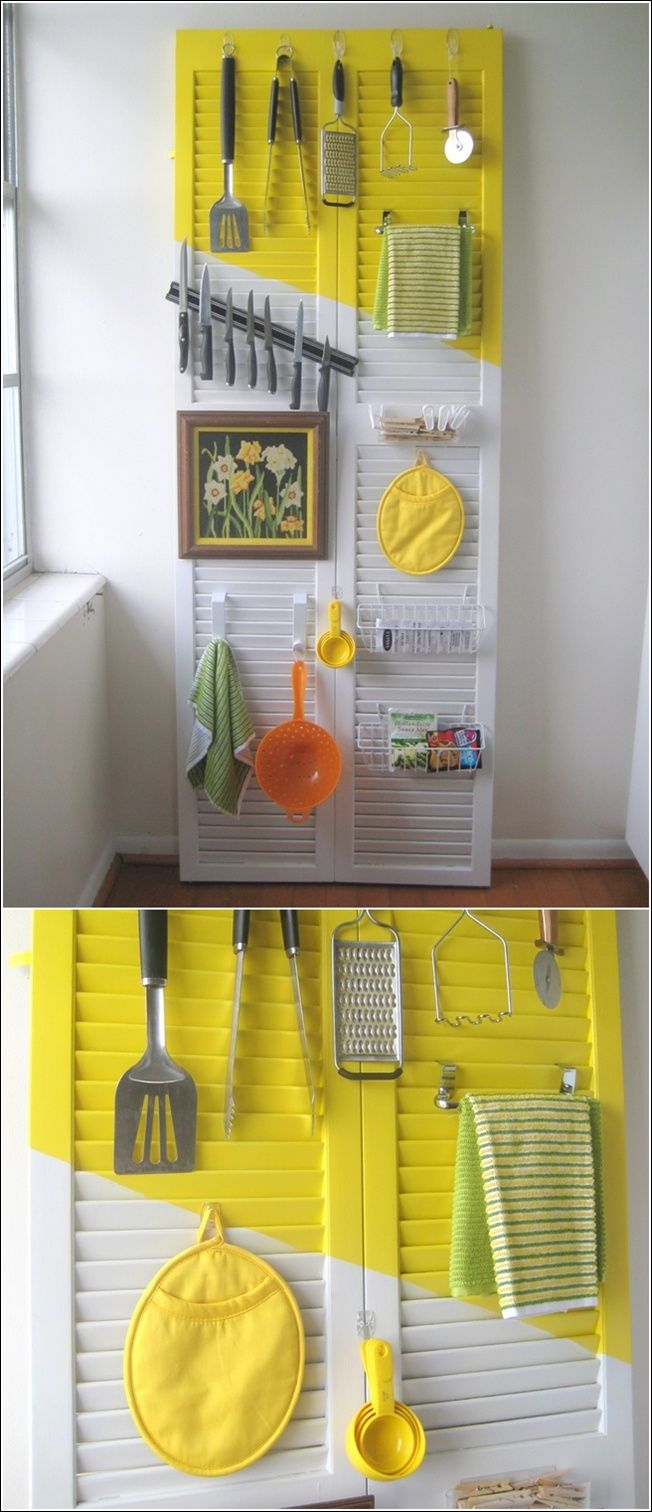 13 best Counters and shelves images on Pinterest | Kitchen storage ...