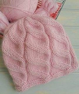Tina's handicraft : knitting hat
