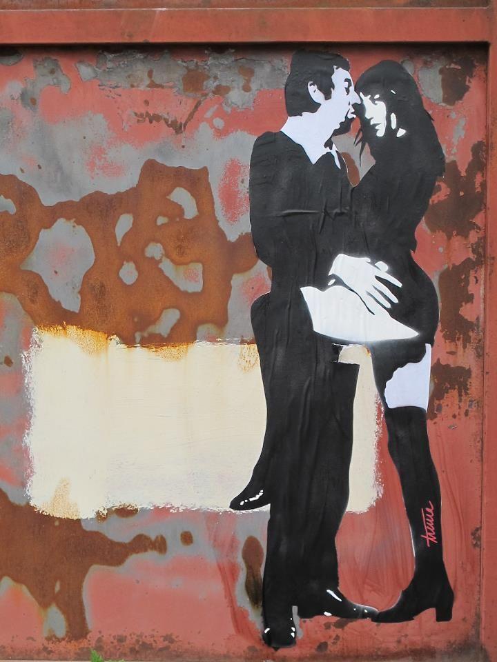 Alex Trema - street artist - Paris
