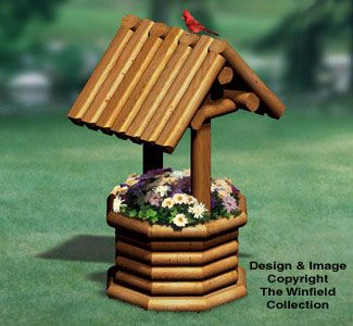 Best 25 wishing well plans ideas on pinterest wellness for Landscape timber projects free plans