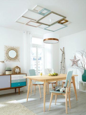 218 best plafonds colorés images on Pinterest Blue ceilings - couleur chaude pour une chambre