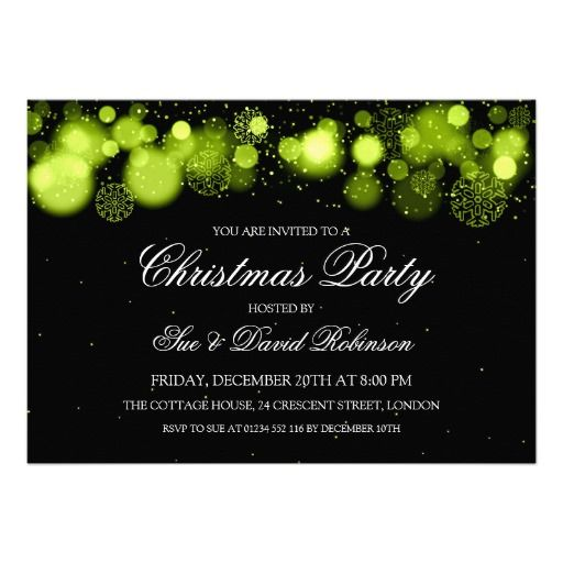 Best Formal Ball Images On Pinterest Chandeliers Black Tie - Party invitation template: elegant christmas party invitation template