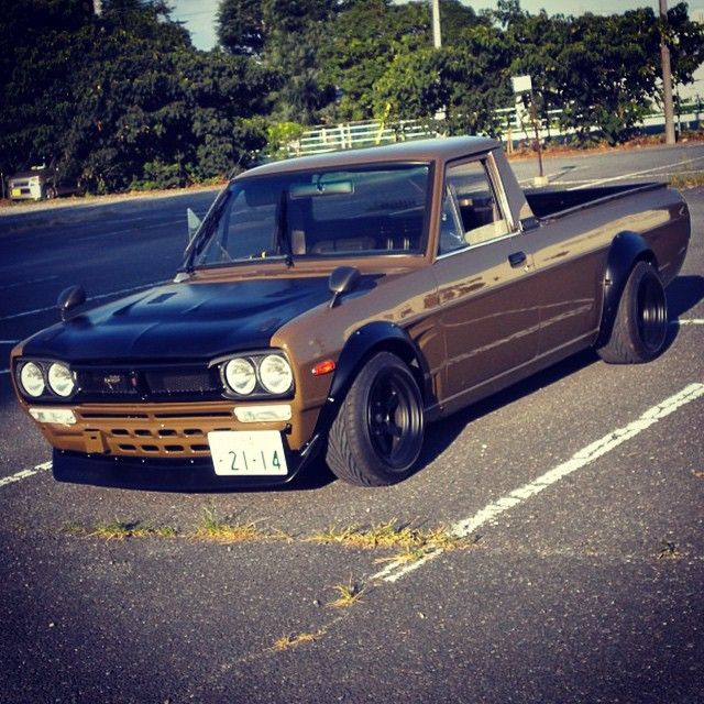 Hakotruck Datsun Hakotura For Sale By 09racing For 28500 This Build Of This Datsun Sunny Ute 1200 Pickup Was Datsun Pickup Nissan Pickup Truck Mini Trucks
