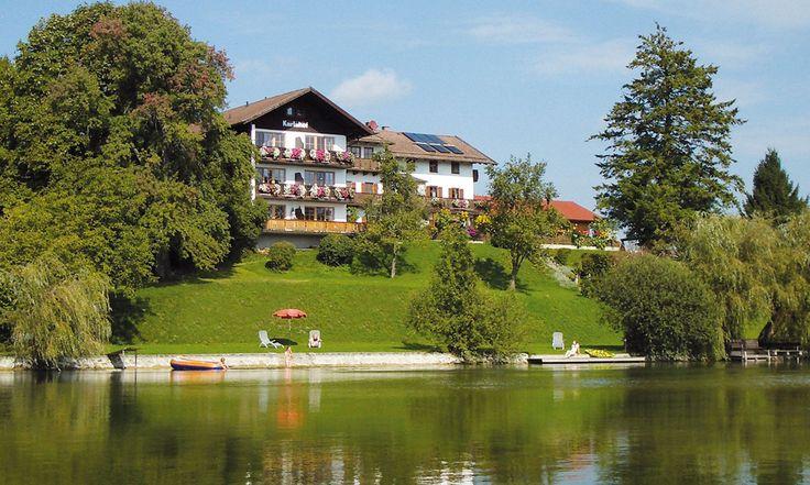Hotel Karlshof an der Alz, Seebruck am Chiemsee, 2012