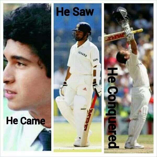 Indian cricket team is incomplete without you... # Thank you Sachin