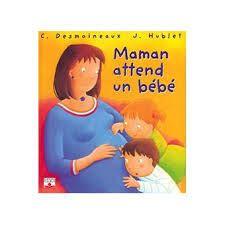 Mamá espera un bebé. Libro lleno de humor para hablar con los niños sobre el embarazo.