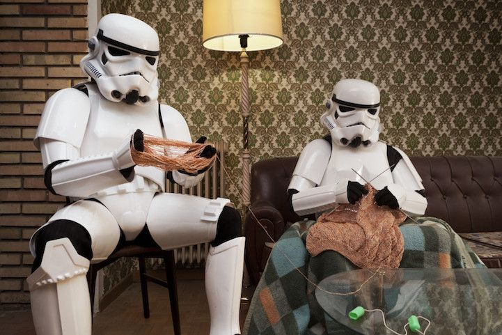 Secret Everyday Lives of Stormtroopers Reveal That They're Just like Us - My Modern Met: