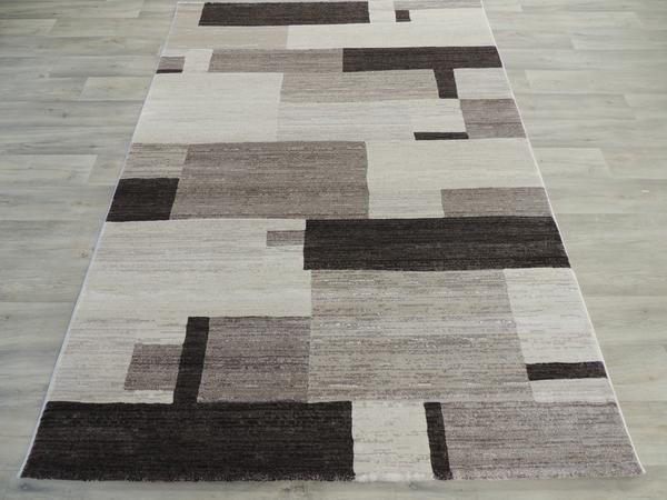Block Design Modern Turkish Rug Size: 160 x 230cm