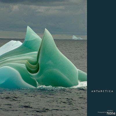 iceberg, green - so beautiful