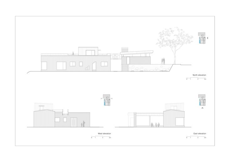 Gallery of Two Courtyards House + Bridge 130 Cafe / Lee.haan.architects - 37