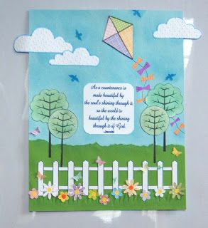 Shoregirl's Creations: March Bulletin Board
