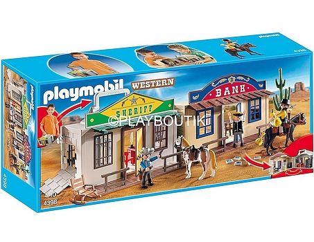 PLAYMOBIL 4398 coffret western - http://www.playboutik.com/achat-playmobil-4398-coffret-western-409377.html