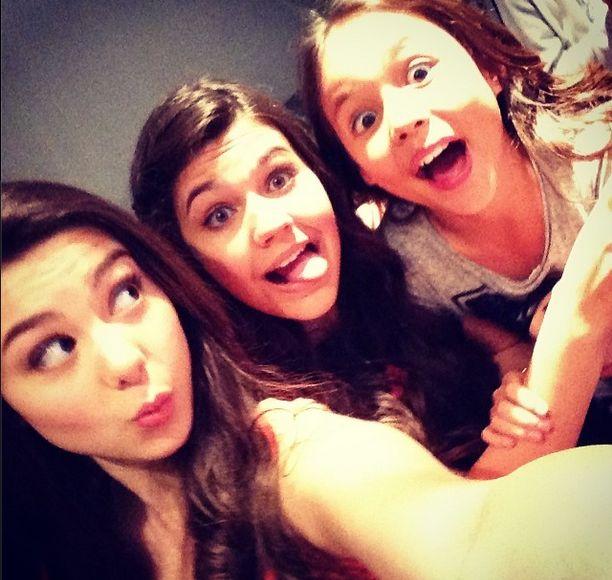 Kira Kosarin, Amber Montana, and Breanna Yde