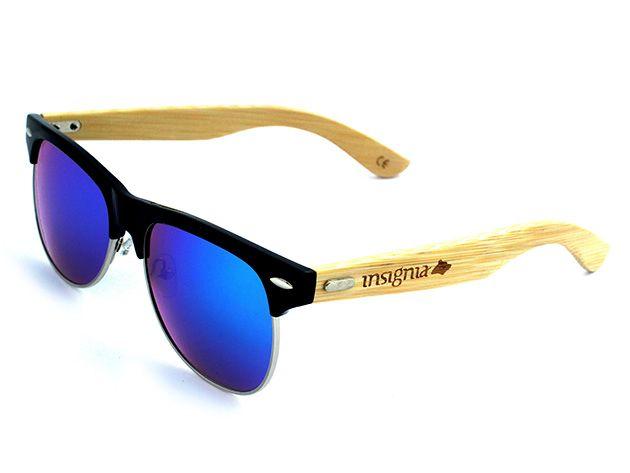 Gafas de Sol Polarizadas en Bambú | Insignia Mikonos