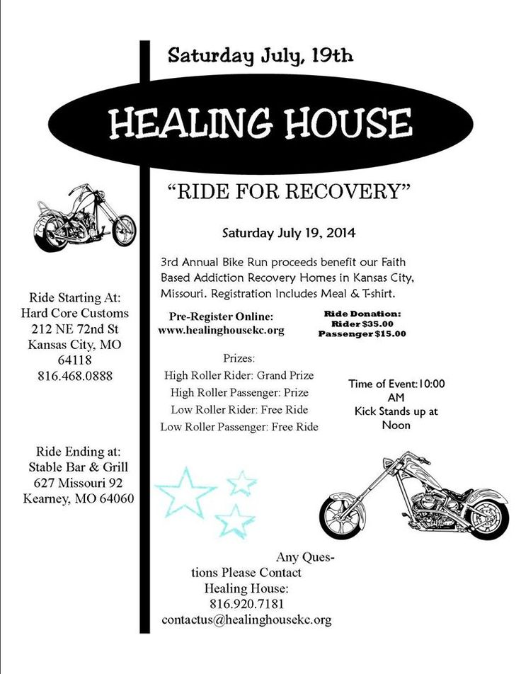 how to organize a motorcycle benefit ride