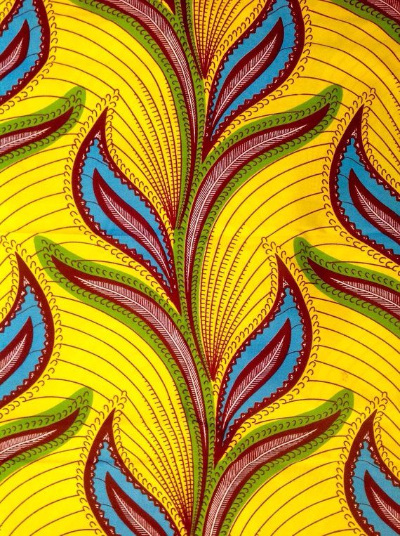 African Print Fabric/ Dutch Wax/ Ankara/ by HouseOfMamiWata                                                                                                                                                                                 More