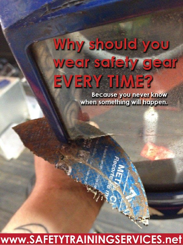 Why Do We Wear Ppe Because Accidents Happen Safety