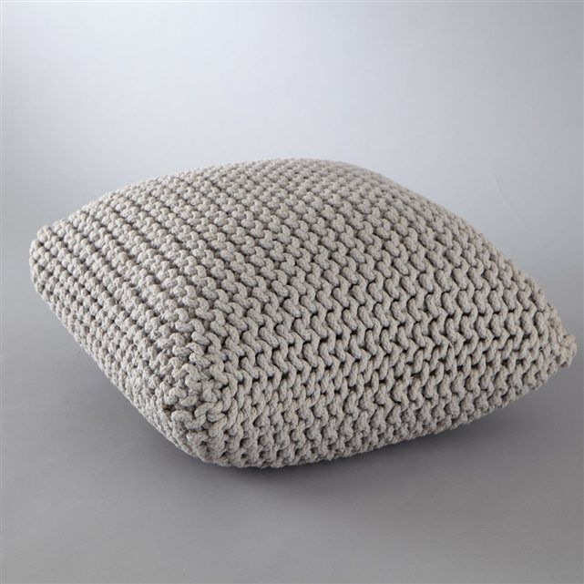 poufs tricot and salons on pinterest. Black Bedroom Furniture Sets. Home Design Ideas