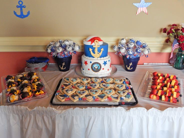 Desserts! Navy Boot Camp Going Away Party! #Navy #BootCamp #GoingAwayParty