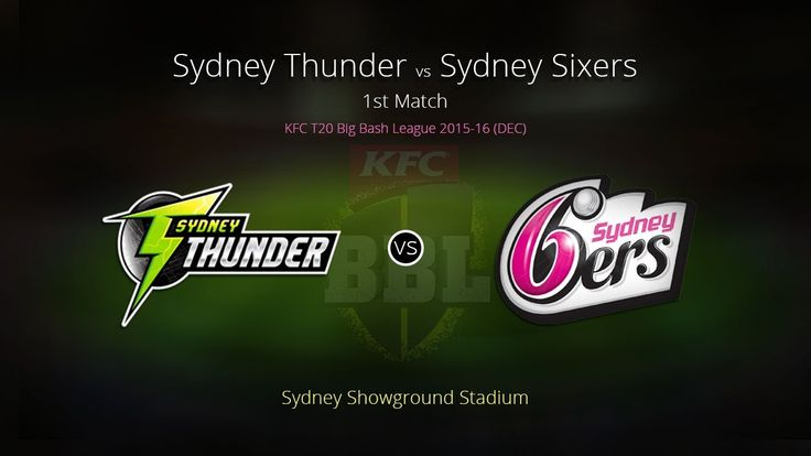 Sydney Thunder v Sydney Sixers BBL Free Betting Tips Bigbash Free betting Tips