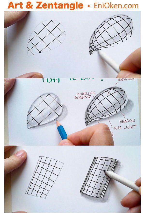 Lernen Sie, wie Sie dreidimensionale Formen mit Ra…