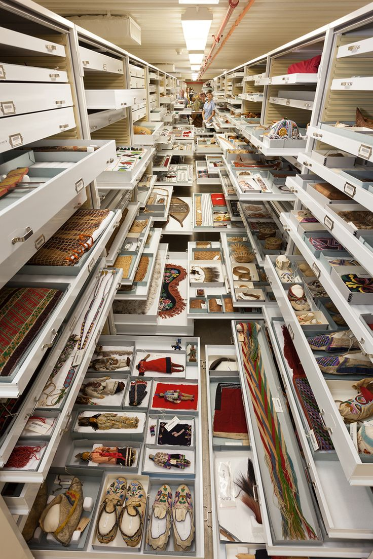 the anthropology department backroom-storage-at-the-smithsonian-natural-history-museum-designboom-02