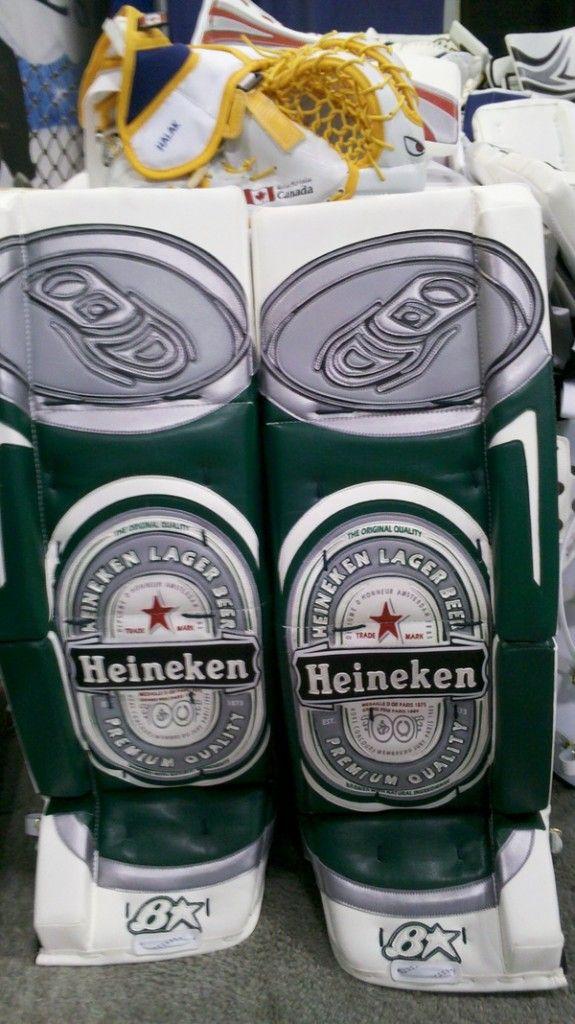 Heineken goalie pads