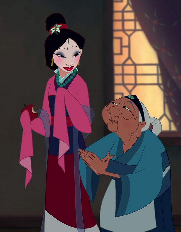 Disney Photo: Mulan | Mulan disney, Disney, Mulan