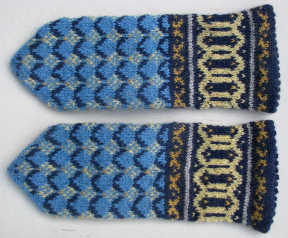 mittens, 3 colours