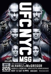 UFC 205 Fighter Salaries, Reebok $, Attendance & Gate - http://blog.clairepeetz.com/ufc-205-fighter-salaries-reebok-attendance-gate/