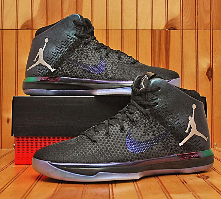 2016 Nike Air Jordan XXXI 31 Size 13 -Chameleon All Star Black Silver-905847