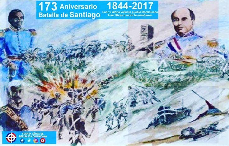 Hoy conmemoramos el 173 Aniversario de la Batalla Independentista del 30 de Marzo en Santiago! !Loor a nuestros héroes! #BatallaDel30DeMarzo  La Batalla del 30 de Marzo o Batalla de Santiago fue la segunda batalla posterior a la Guerra de la Independencia Dominicana y se libró el 30 de marzo de 1844 en Santiago. En esta batalla el general José María Imbert al mando de una parte del ejército del norte derrotó al general Jean-Louis Pierrot quien comandaba las tropas del ejército haitiano en…