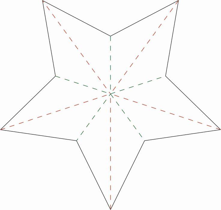 nille: DIY / gjør-det-selv: Brett en dekorativ stjerne!