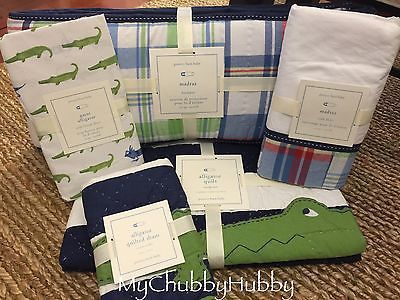 Details About Pottery Barn Kids Harper Sprout Green Crib