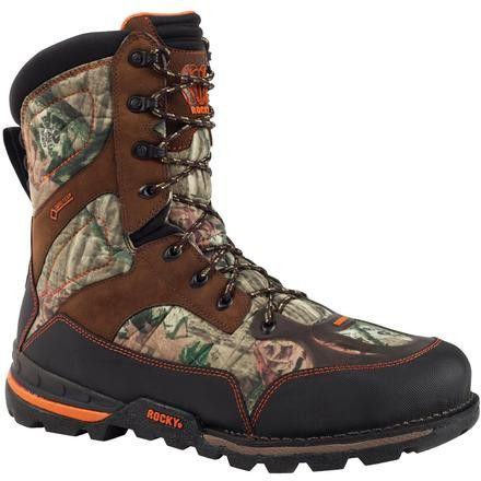 Rocky Men's Athletic Mobility GOR-TEX WP Insulated Maxprotect Level 3 If  you are a man who likes to go hunting, these men's boots are exactly what