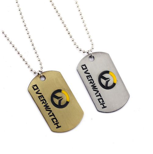 Overwatch Necklace //Price: $9.95 & FREE Shipping //