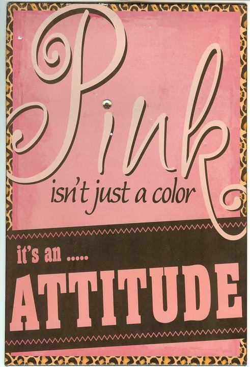 PINK.....sure is!!! <3
