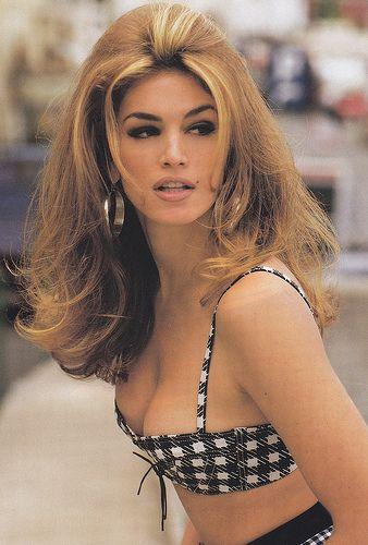 supermodel: Big Hairs, Vintage Beauty, Cindycrawford, Retro Styles, Vintage Hairs, 90S Models, Cindy Crawford, Bombshell Hairs, Supermodels
