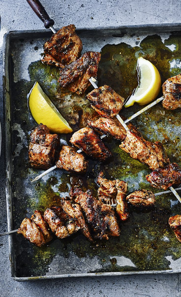 Cook these pork kebabs on the barbecue for an authentic taste of Cyprus.