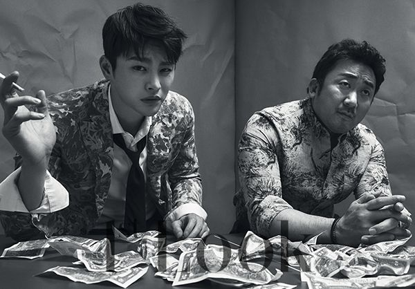 Seo In Guk and Ma Dong-Seok in First Look Vol.112.