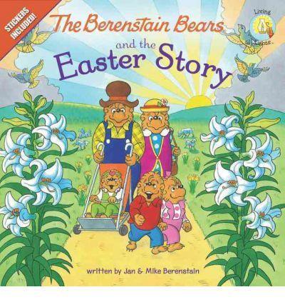 The Berenstain Bears and the Easter Story - Jan Berenstain, Mike Berenstain; Varsta: de la 2 ani. Puii de ursuleti sunt innebuniti dupa bomboane. Dar doamna ursula e povesteste despre umilinta in care trebuit trait Pastele, despre invierea lui Isus si despre mantuire, care toate sunt mult mai mult decat placerea trecatoare a bomboanelor. Include o foaie de autocolante colorate!