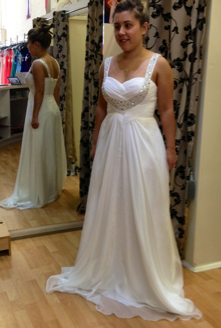 Gorgeous white design style for wedding style 100A - any sizes.  Www.villonieveningwear.com