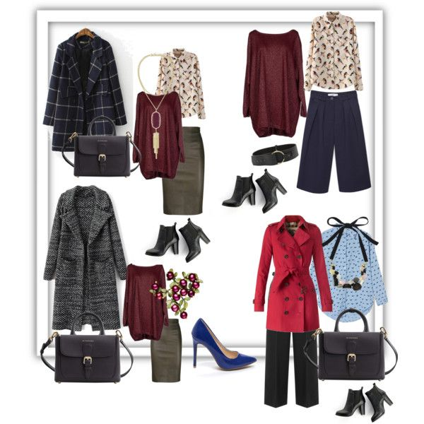 A fashion look from December 2015 by prusakova-1 featuring Blukey, Burberry, Brunello Cucinelli, Alexander Wang, MANGO, SWEET MANGO, Marc by Marc Jacobs и Kendr...
