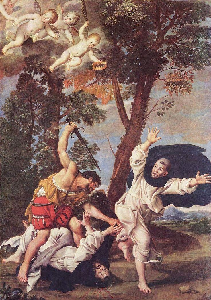 Domenichino (1619-1621), Martirio di San Pietro da Verona.