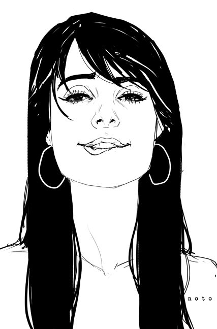 ''Stop Me If You Think You've Heard This One Before'' by Phil Noto (http://philnoto.tumblr.com/page/12) ★ || CHARACTER DESIGN REFERENCES | マンガの描き方 • Find more artworks at https://www.facebook.com/CharacterDesignReferences