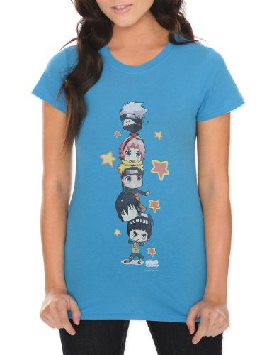 $24.50 Hot Topic Women's Naruto Shippuden Super Rock T-Shirt #Clothes