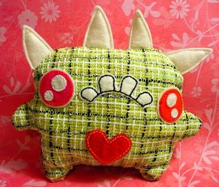 Oops, I Craft My Pants: The Sad Monster Plush