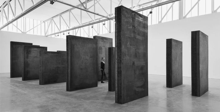 #Exhibition in #NYC Gagosian New York - Works by Richard Serra
