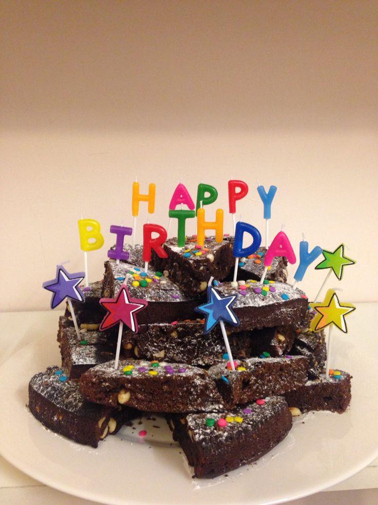 Brownie stack cake