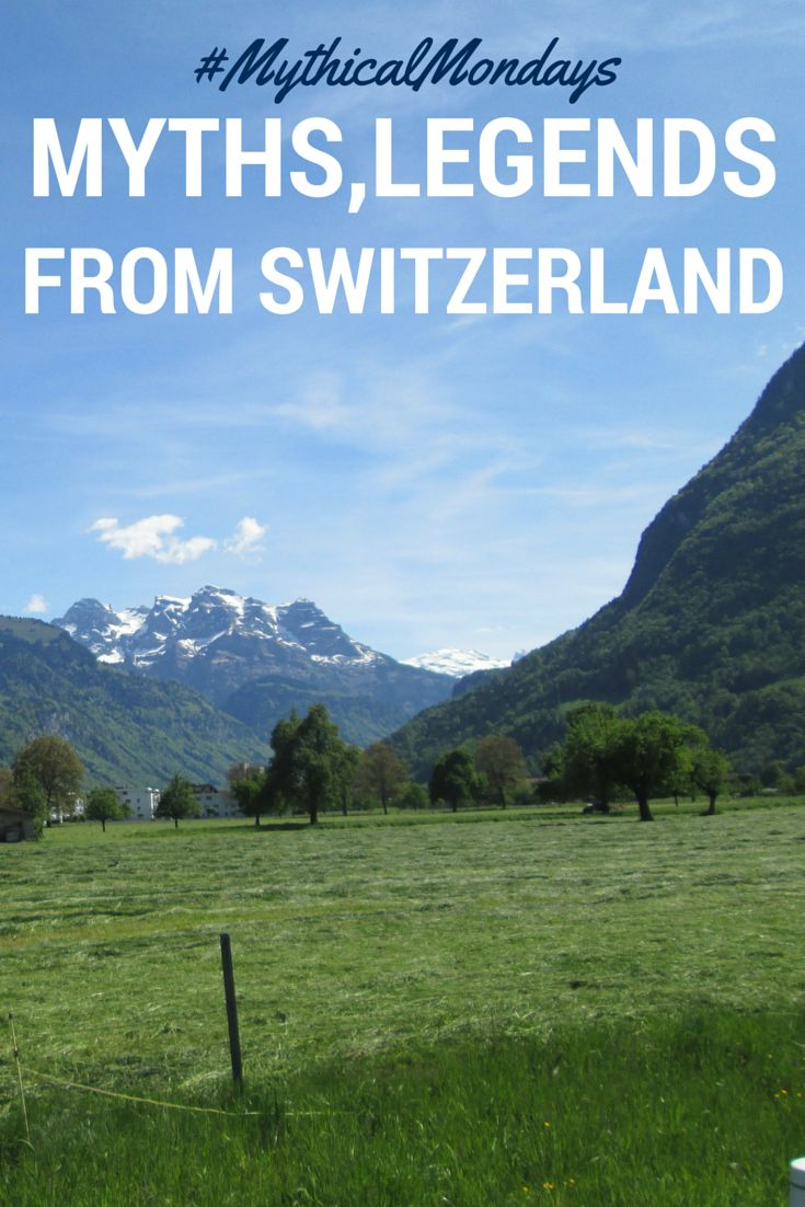 Myths,legends and folklore from Switzerland